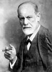 Retrato de Sigmun Freud